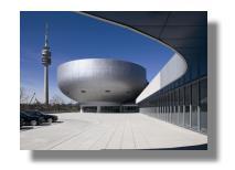 BMW Museum - Außenansicht