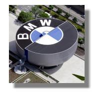 BMW Museum Luftaufnahme