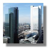 Dresdner Bank - Banktower in Frankfurt