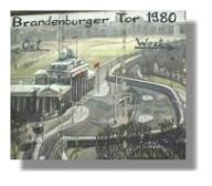 Brandenburger Tor 1980