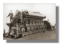 U-Boot Dieselmotor
