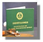 Dienstausweis der DDR-Zollverwaltung