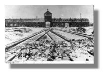 KZ Auschwitz Einfahrt