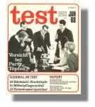 Stiftung Warentest: test Ausgabe Januar 1968