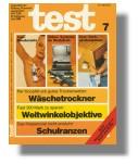 Stiftung Warentest: test Ausgabe Juli 1980