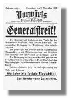 Vorwärts vom 9. November 1918