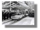 Produktionsbeginn im Ford-Werk Saarlouis – erster Ford Escort, 1970