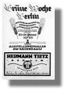 Ausstellungskatalog Grüne Woche 1926