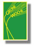 Logo Grüne Woche Berlin – gelbe Ähren auf grünem Grund
