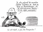 Klaus Stuttmann - Karikatur Schäuble und sein Pressesprecher