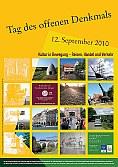 Plakat zum Tag des offenen Denkmals 2010