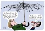 Klaus Stuttmann - Karikatur Rettungsschirm Slowakei Abstimmung