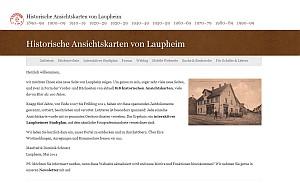 Laupheimer Ansichtskarten Screenshot