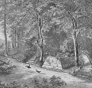 Das Grab der Dunkelgräfin in Hildburghausen