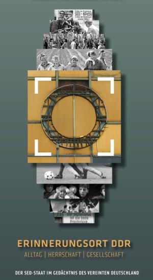 Erinnerungsort DDR - Flyer zur Veranstaltungsreihe für 2015