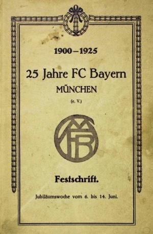FC Bayern München, Festschrift von 1925