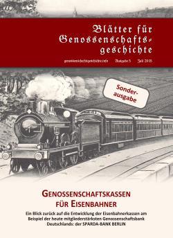 Blätter für Genossenschaftsgeschichte, Ausgabe 5 (Juli 2015)
