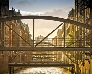 Brücken in der Hamburger Speicherstadt