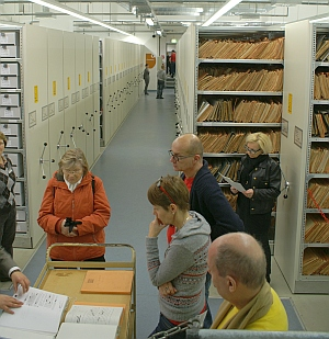 Besuchertag in Stasi-Unterlagenbehörde