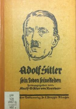 Adolf-Hitler-Buch von Adolf-Viktor von Koerber