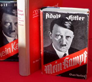 Mein Kampf, Bild der Erstausgabe