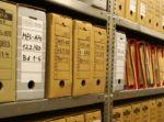 Akten im BstU-Archiv Berlin
