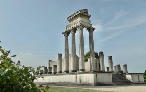 Welterbe: Hafentempel im Archäologischen Park Xanten